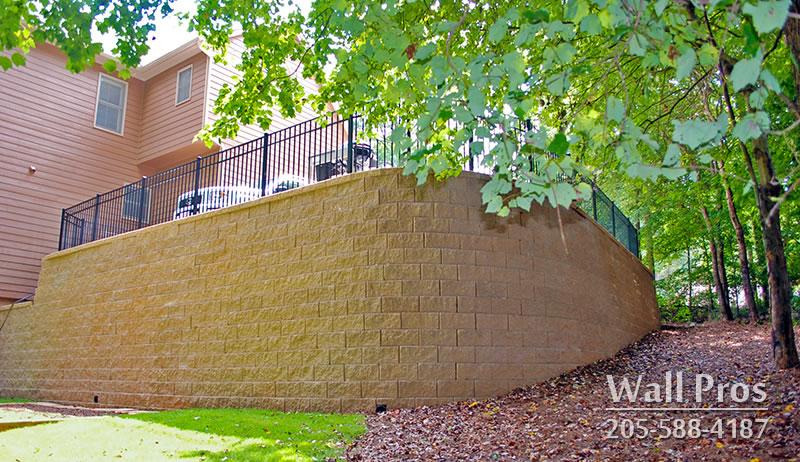 Retaining wall tuscaloosa al replacement walls for Landscaping rocks tuscaloosa al