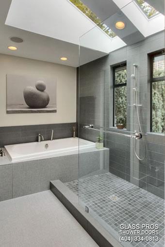 atlanta frameless shower enclosure. Shower Doors Atlanta GA   Frameless Glass Enclosure